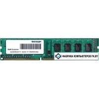 Оперативная память Patriot 8GB DDR3 PC3-12800 [PSD38G1600L2]