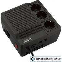 Стабилизатор напряжения Mustek PowerMate 1060 [98-AVR-1060]