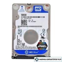 Жесткий диск WD Blue 500GB (WD5000LPCX)