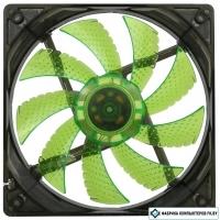 Кулер для корпуса WindForce GMX-WF12G 4LEDs Green