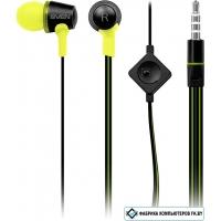 Наушники с микрофоном SVEN SEB-190M (черный/зеленый)