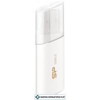 USB Flash Silicon-Power Blaze B06 White 16GB (SP016GBUF3B06V1W)