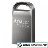 USB Flash Apacer AH156 Silver 8GB AP8GAH156A-1 (USB 3.0)