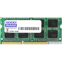 Оперативная память GOODRAM 4GB DDR3 SO-DIMM PC3-12800 [GR1600S3V64L11/4G]