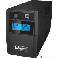 Источник бесперебойного питания Mustek PowerMust 848 LCD (850VA), Line Int., Schuko [98-LIC-L0848]