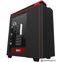 Корпус NZXT H440 Matte Black/Red 2015 [CA-H442W-M1]