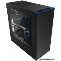 Корпус NZXT S340 Black/Blue [CA-S340MB-GB]