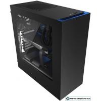 Корпус NZXT S340 Black/Blue [CA-S340MB-GB]