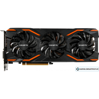 Видеокарта Gigabyte GeForce GTX 1080 Windforce OC 8GB GDDR5X [GV-N1080WF3OC-8GD]