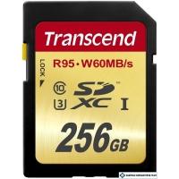 Карта памяти Transcend SDXC UHS-I U3 (Class 10) 256GB (TS256GSDU3)