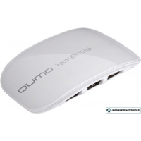 USB-хаб QUMO White Line 4-port USB2.0 Hub