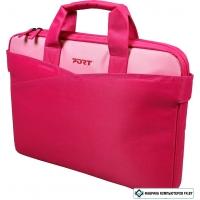"""Сумка для ноутбука Port Designs Lugano 15,6"""" Pink (140309)"""