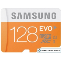 Карта памяти Samsung MicroSDXC 128GB Evo Memory (MB-MP128DA/AM)