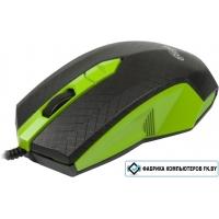 Мышь Ritmix ROM-202 (черный/зеленый)