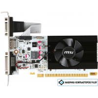 Видеокарта MSI GeForce GT 730 1GB GDDR5 [N730K-1GD5LP/OCV1]
