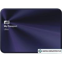 Внешний жесткий диск WD My Passport Ultra Metal Navy 3TB [WDBEZW0030BBA]