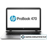 Ноутбук HP ProBook 470 G3 [W4P75EA]