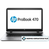 Ноутбук HP ProBook 470 G3 [W4P81EA] 24 Гб