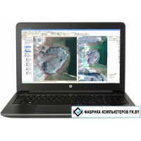 Ноутбук HP ZBook 15 G3 [T7V54EA] 24 Гб