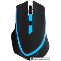 Мышь Oklick 630LW Wireless Optical Mouse Black/Blue (923003)