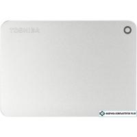 Внешний жесткий диск Toshiba Canvio Premium Mac 1TB Silver Metallic [HDTW110ECMAA]