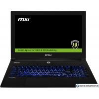 Ноутбук MSI WS60 6QJ-626RU 24 Гб