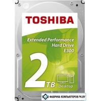 Жесткий диск Toshiba E300 2TB [HDWA120UZSVA]