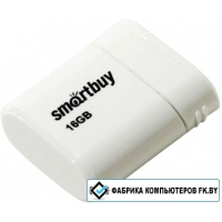 USB Flash Smart Buy Lara White 16GB [SB16GBLARA-w]