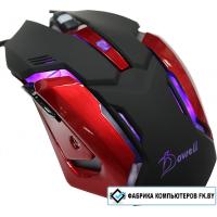 Игровая мышь Dowell MG-260 (красный)