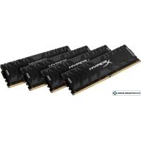 Оперативная память Kingston HyperX Savage 4x8GB DDR4 PC4-24000 [HX430C15PB3K4/32]