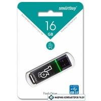 USB Flash Smart Buy Dark Grey 16GB [SB16GBGS-DG]