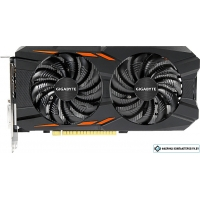 Видеокарта Gigabyte GeForce GTX 1050 Ti Windforce OC 4GB GDDR5 [GV-N105TWF2OC-4GD]