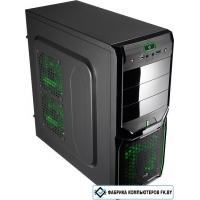 Корпус AeroCool V3X Advance Evil Green Edition
