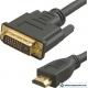 Кабель HDMI to DVI-D Dual Link (19M -25M) 3м