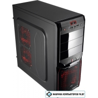 Корпус AeroCool V3X Advance Devil Red Edition