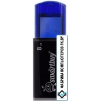 USB Flash Smart Buy 8GB Click Blue (SB8GBCL-B)