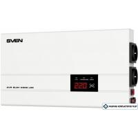 Стабилизатор напряжения SVEN AVR SLIM-2000 LCD