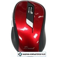 Мышь Dowell MR-027 (черный/красный)