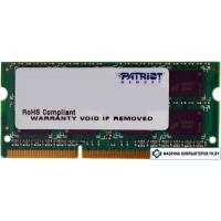 Оперативная память Patriot Signature 2GB DDR3 SO-DIMM PC3-10600 (PSD32G13332S)