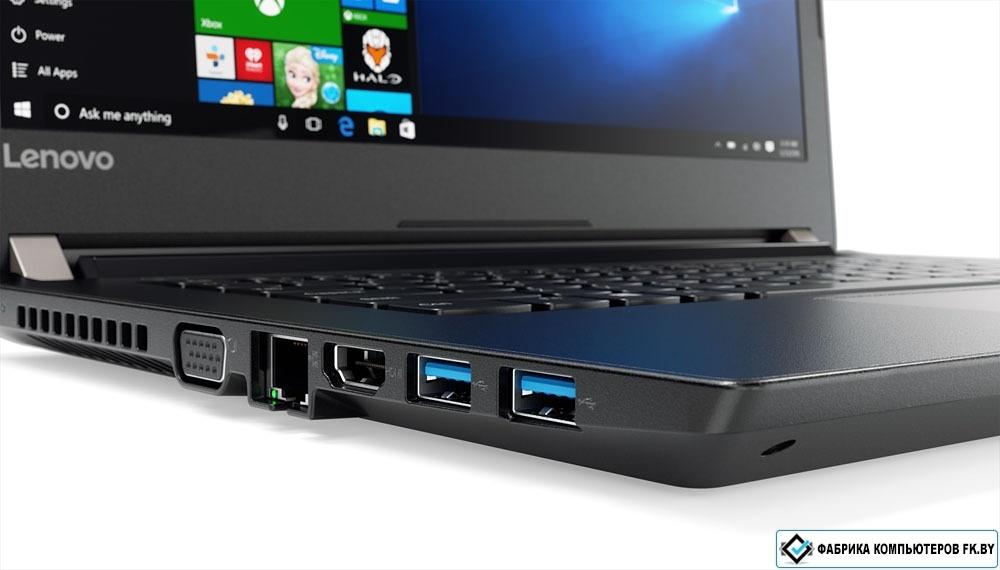 Ноутбук lenovo v510-15ikb core i5 7200u/4gb/1tb/intel hd graphics/156