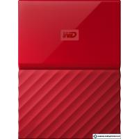 Внешний жесткий диск WD My Passport 1TB [WDBBEX0010BRD]