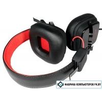 Наушники с микрофоном Dowell HD-505 Pro Black Red