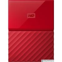 Внешний жесткий диск WD My Passport 2TB [WDBYFT0020BRD]