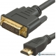 Кабель HDMI - DVI-D 5 м