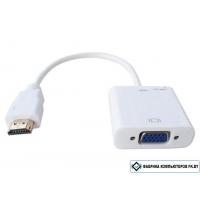 Адаптер-конвертер HDMI to VGA (15F)
