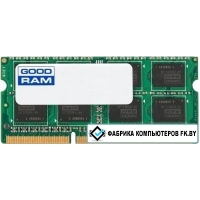 Оперативная память GOODRAM 8GB DDR4 SODIMM PC4-17000 [GR2133S464L15S/8G]