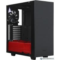 Корпус NZXT S340 Elite Black + Red [CA-S340W-B4]