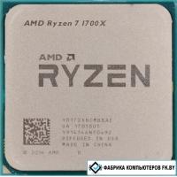 Процессор AMD Ryzen 7 1700X (BOX, без кулера)