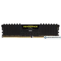 Оперативная память Corsair Vengeance LPX Black 8GB DDR4 PC4-19200 [CMK8GX4M1A2400C16]