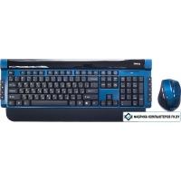 Мышь + клавиатура Dialog Katana KMROK-0517U Blue